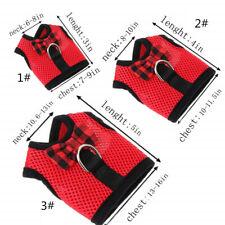 Adjustable Dog Harness & Leash Set Xsmall Vest Lead for Rabbit Yorkie Teacup Cat