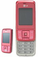 CHEAP PINK LG KG290 SIMPLE SLIDE MOBILE PHONE-UNLOCKED WITH NEW CHARGAR&WARRANTY