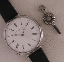Superb SILVER All ORIGINAL BOUVIGNY a VERNEUIL DUPONT 1870 French Wrist Serviced