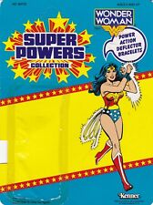 Wonder Woman Kenner Super Powers Vintage Figure Card Back Only Unpunched DC 1984