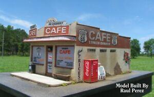 HO Scale Route 66 Series: DESERT CAFE Kit (2017)