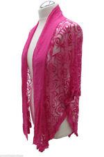 Plus Size Cotton Blend Casual Coats & Jackets for Women