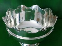 ANTIQUE SILVER MONTEITH/PUNCH BOWL - 1913