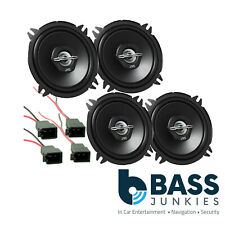 Fiat Punto MK2 99-05 JVC 2 Way Front Door & Rear Shelf Car Speakers Upgrade Kit