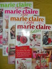Lot de 4 revues Marie Claire Idées année 2007 n° 64/65/66/67