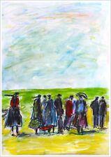 BREIZH  modern art oil painting