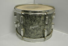 "ADD this RARE 1960's Rogers 13"" BLACK DIAMOND PEARL TOM to YOUR DRUM SET! #K127"