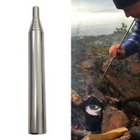 Outdoor Pocket Bellow Collapsible Fire Tool Camping Survival Tool Blow Fire Tube