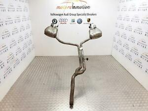 AUDI A6 Mk4 (C7) Centre Exhaust Section and Back Boxes 3.0 TDI