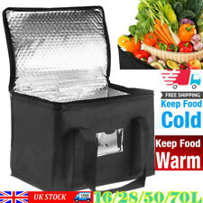 More details for 28-70l food delivery insulated bags pizza takeaway thermal warm/cold bag ruck uk