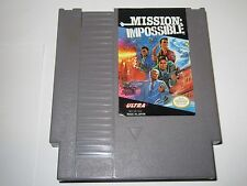 Mission: Impossible (Nintendo NES, 1990) --