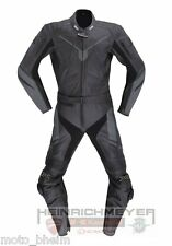 IXS COMBI cuir conquête schwarz-titan-silber taille 56 NEUF Lot de 2