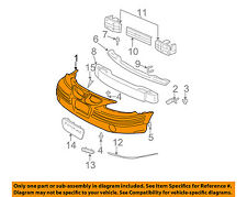 Pontiac GM OEM 99-05 Grand Am-Bumper Cover 22610696