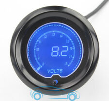 "2""(52mm)EVO LCD Display Voltage 8-18V Gauge 7 Color in 1 Volt Meter"