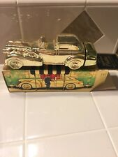 Vintage 1969 Avon Solid Gold Cadillac Car Wild Country Aftershave Decanter NIB