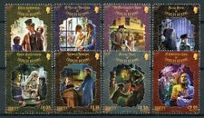 More details for jersey famous people stamps 2020 mnh charles dickens writers oliver twist 8v set