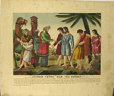Gravure de Willarys, Joseph vendu par ses frères