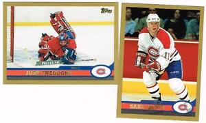 1999 2000 99/00 TOPPS...TEAM SET...MONTREAL CANADIENS...10 CARDS...KOIVU CARKNER
