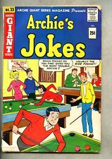 Archie Giant Series Magazine #33-1965 gd+ Archie's Jokes