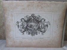 Vintage Print,IMPRESSION SILVER TANKARD,Hogarth,1807