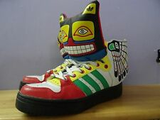 Adidas Jeremy Scott totem / eagle wing size 6.5 a bit used