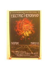 The Electric HeadBand Poster Head Band Silkscreen