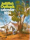 Jolliffe's Outback 1984 Calendar - Australiana Comic / Cartoons Book VGC