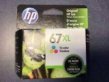 HP 67XL Tri-Color OEM - One NEW Unopened Ink Cartridge in orig. box