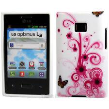 Custodie preformate/Copertine bianchi per LG Optimus L3