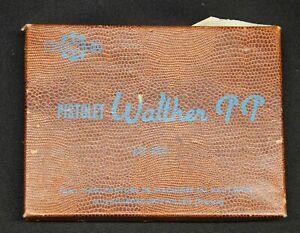 Original Post War Manurhin France Walther PP Pistol 7.65mm Brown Cardboard Box