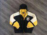 PITTSBURGH STEELERS NFL Starter Jacket Pullover Size Large *no returns