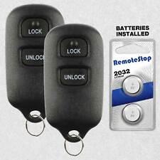 2 For 2003 2004 2005 2006 2007 2008 Toyota Corolla Matrix Car Remote Key Fob