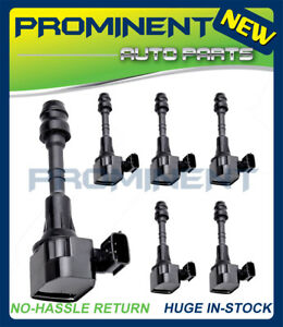 6 Ignition Coil UF349 Replacement for Nissan Maxima Altima Quest Murano Quest V6