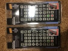 New Jumbo Universal Remote Control 8-in-1  2 Pack