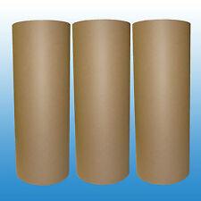 3 Rollen Natronpapier (10kg/Rolle) 50cm x 250m 80g/m² - Packpapier Schrenzpapier