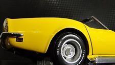 1969 Vette Corvette 1 Chevy Hot Rod Race Car Drag Dragster 18 Carousel Yellow 12