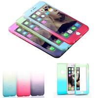 NEW Ombre Silicone/Gel/Rubber Clear Case Cover Skin For iphone 6S/7 Plus 5.5