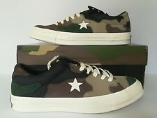 Converse One Star X Sneakersnstuff Camo Trainers Size 8 UK 161406C