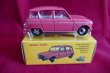 Dinky Toys Renault 4L Rose corail - Ech: 1/43 - Model Car 4L - Atlas N°518 Neuf