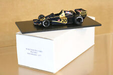 SCALE RACING CARS CANADIAN GP 1977 WOLF WR1 CAR 20 Jody Scheckter 1st PLACE nj