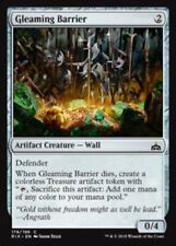 4 x Gleaming Barrier * Rivals of Ixalan * MtG * Common * PLAYSET