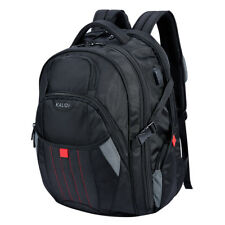 17.3 inch Laptop Notebook Backpack Rucksack USB Charging Port Travel Business