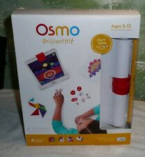 OSMO Brilliant Kit For IPAD, 4 Hands on Games For Kids, NEW Sealed, Ships Fast