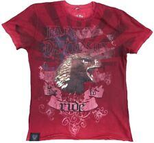 H D CUSTOM Authentic HARLEY DAVIDSON Live to Ride USA Strass Biker ViP T-Shirt M