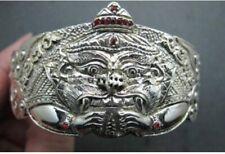 Wealth Rahu Yant Bracelet Kruba Krissana Charm Thai Amulet Luck Money Magic