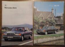 MERCEDES BENZ S CLASS orig 1980 UK Mkt Prestige Sales Brochure - 280 380 500 SEL