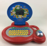 VTech Thomas The Tank Engine Learn & Explore Laptop Numbers Letters Learning Toy