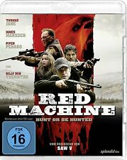 Red Machine (Blu-ray) FSK 16 Billy Bob Thornton, Scott Glenn, David Hackl NEW