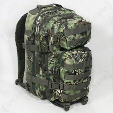 Mandra Woodland Mimetico Molle Zaino Assalto SMALL BAG 20L Zaino TACTICAL PACK