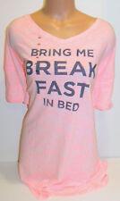 Victorias Secret bikini coverup cruise bring me breakfast sleep night shirt XL